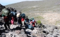 Porters on Barranco Wall.