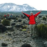 Nearly at Kilimanjaro's summit