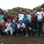 Team of climbers
