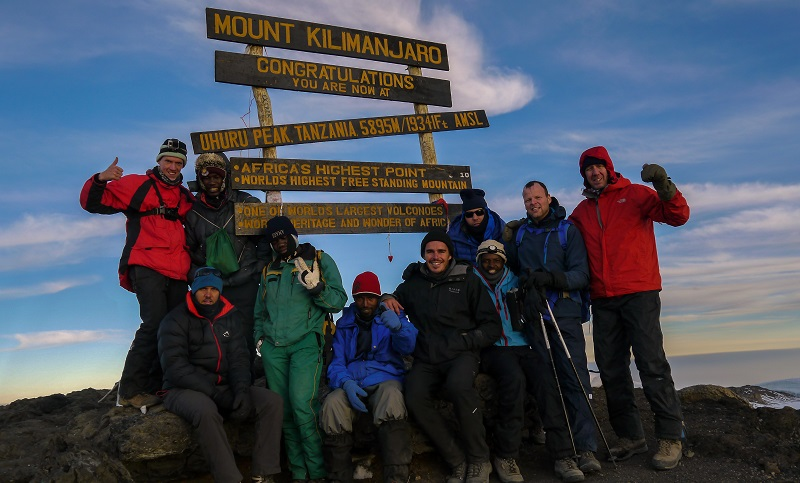 Day 6 -Uhuru Peak - We made it!-2