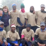 Group picture with Kilimanjaro Experience
